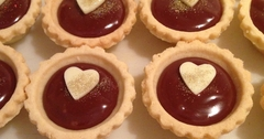 chocolates tarts