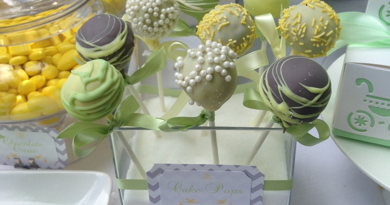 cupcakes for a wedding display