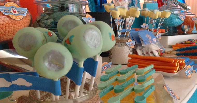 childrens party cake pops