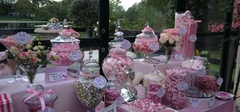 Pink Minnie Mouse Candy Buffet2