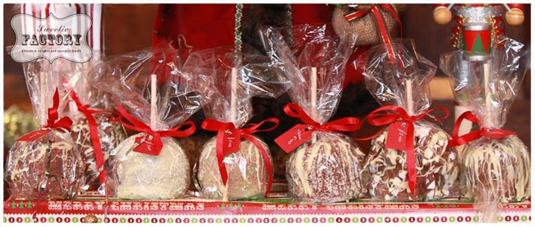 Candy Apples Christmas