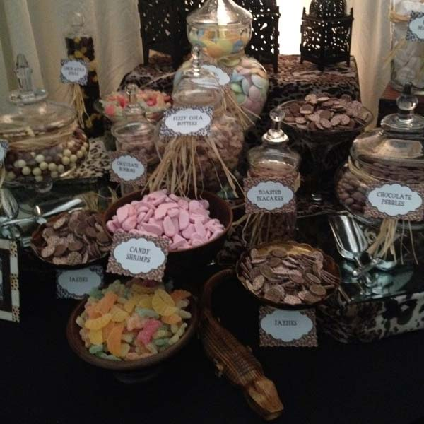 Candy Buffet African Themed