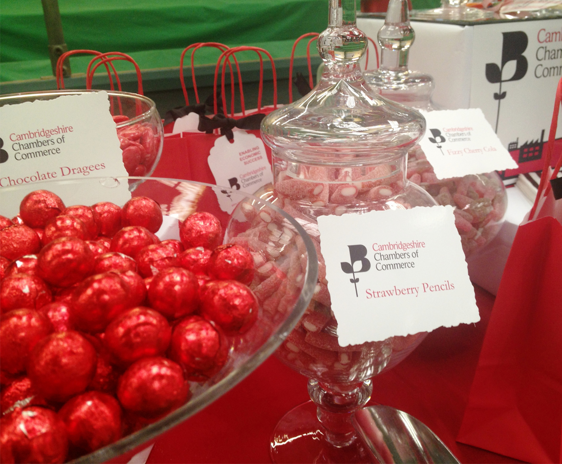 Candy Buffet for Cambridgeshire Chamber of Commerce