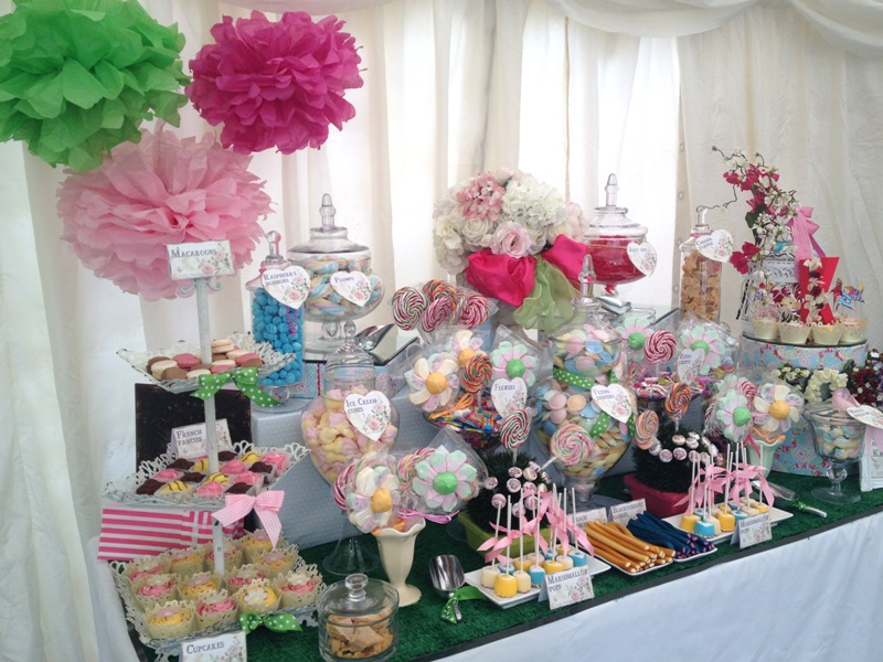 Candy Buffet Garden Party Candy Buffets l Sweetie Tables l