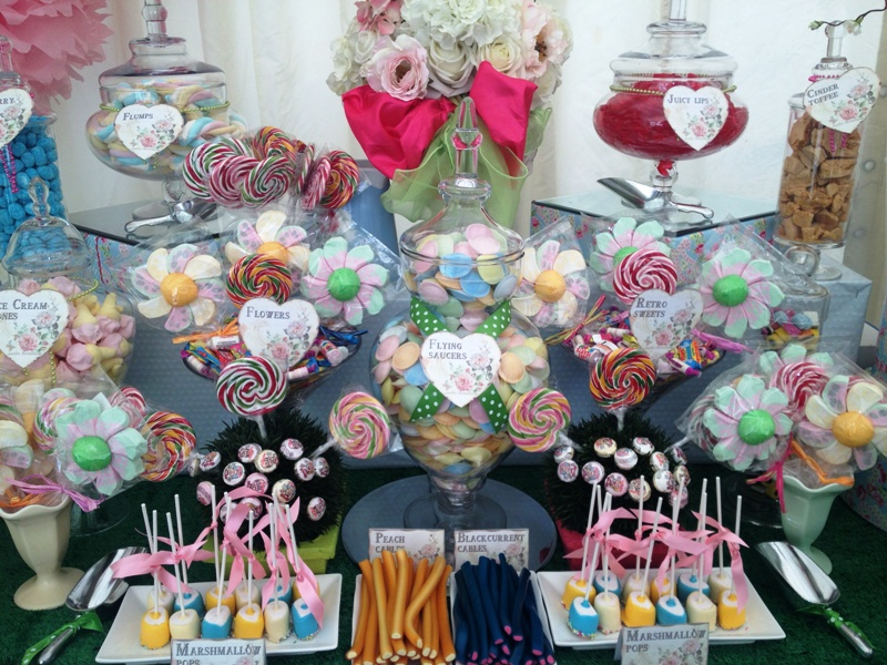Candy Buffet Garden Party