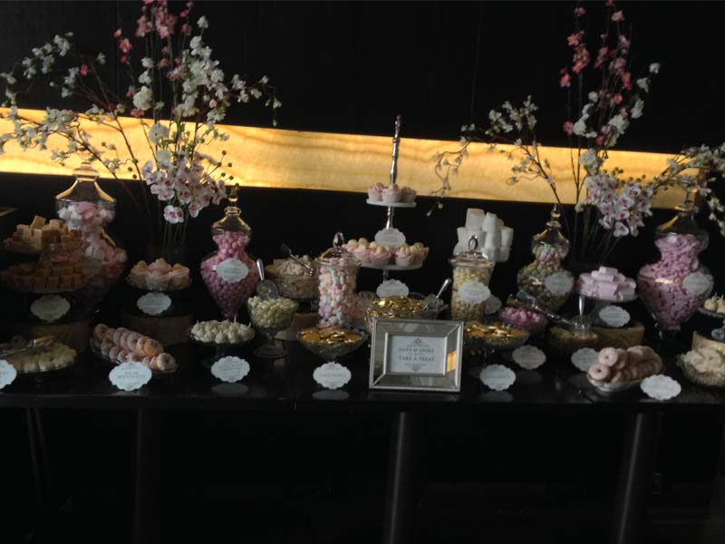 Wedding Candy Buffet and Dessert Table