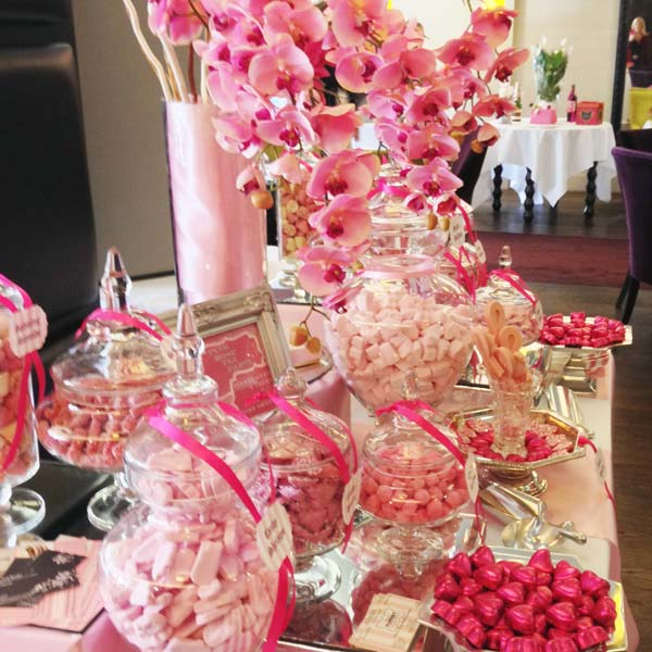 Pink Candy Buffet Breast Cancer Candy Buffets L Sweetie