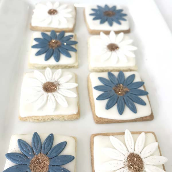 Wedding Iced Cookies