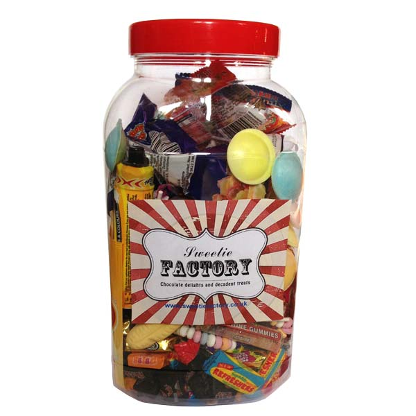 Retro Jars of Sweets - huge