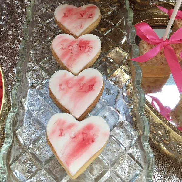 Wedding Iced Biscuits