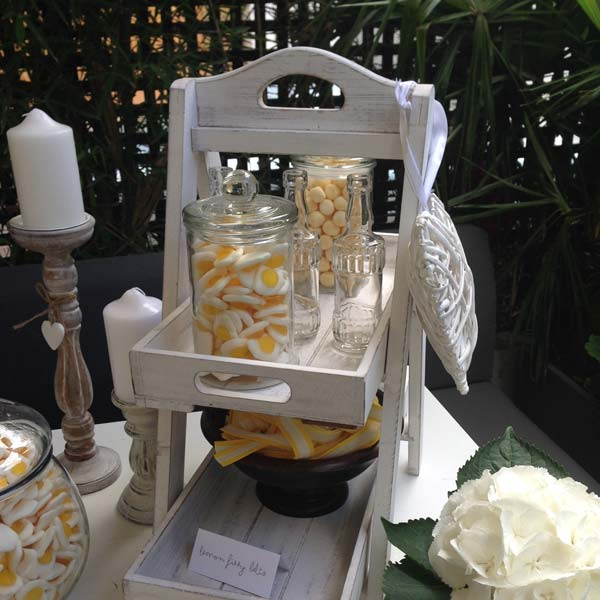 Rustic Lemon Sweetie Table