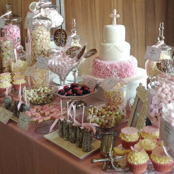 Pink Dessert Table Candy Buffets L Sweetie Tables L