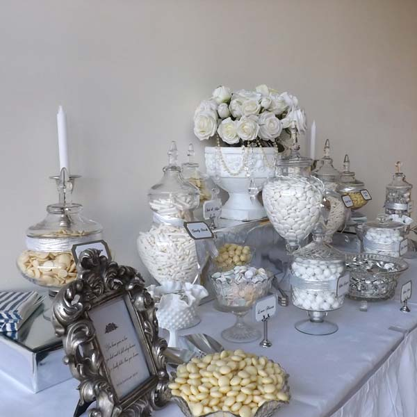 60th Wedding Anniversary Table Centerpieces