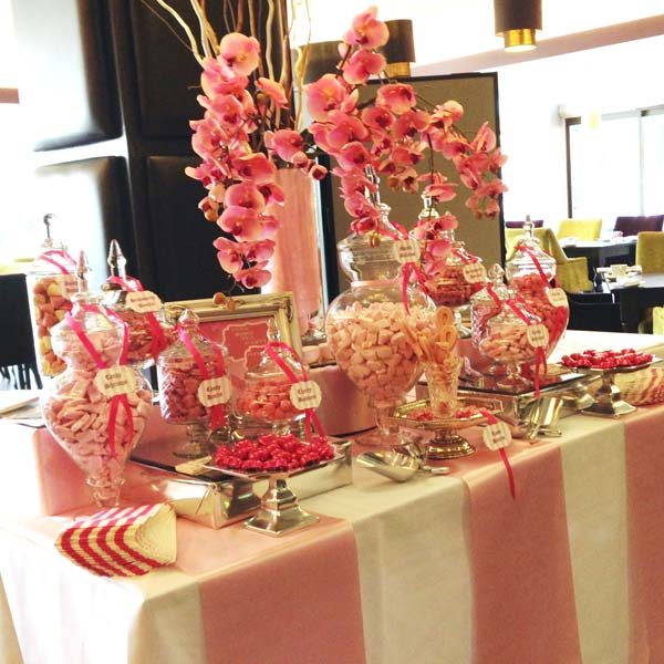 Pink Candy Buffet Breast Cancer