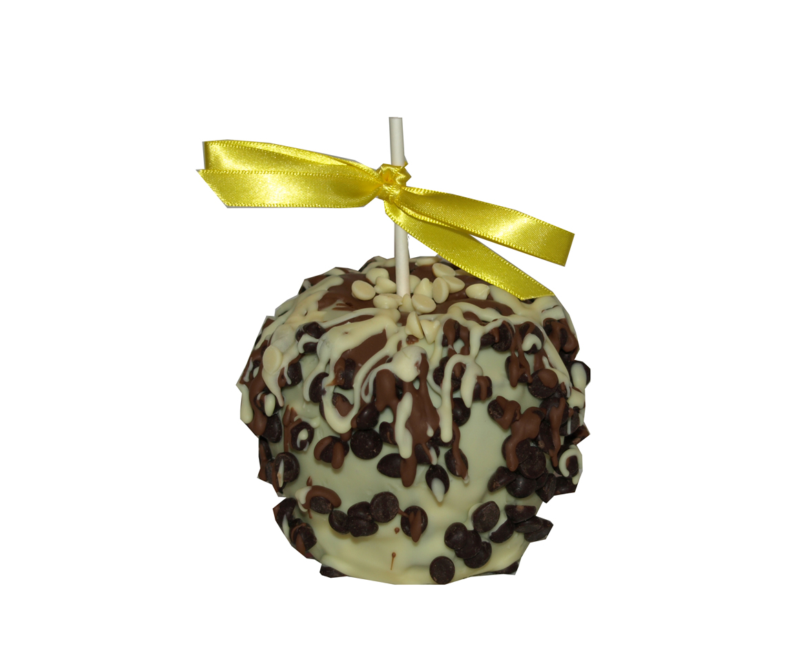 Triple Chocolate Chocolate Caramel Apple