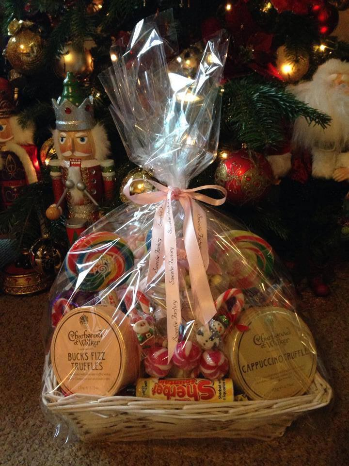 Large Christmas Hamper sweet selection