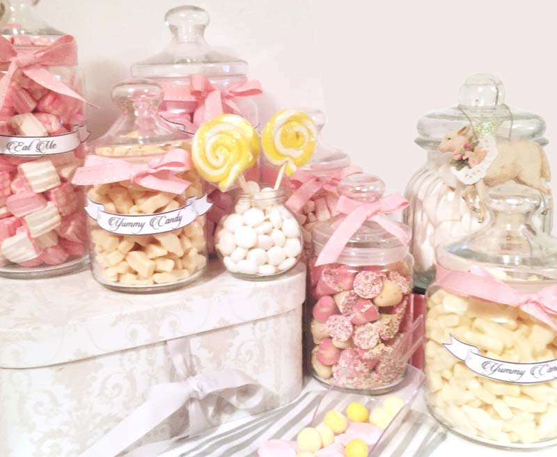 Large DIY Candy Buffet