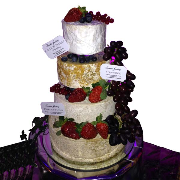 Wedding Cheese Cake Napoleon and Josephine