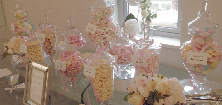 Lola Rose Jewellery Launch Candy Buffet