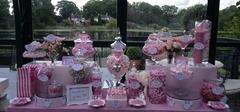 Pink Minnie Mouse Candy Buffet 3