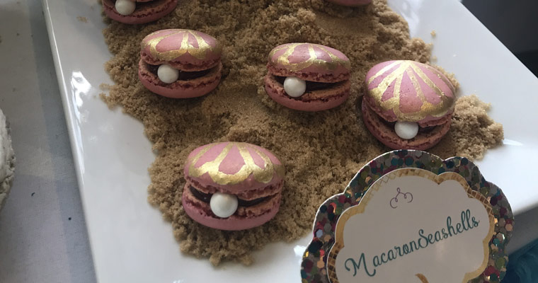 childrens party macarons