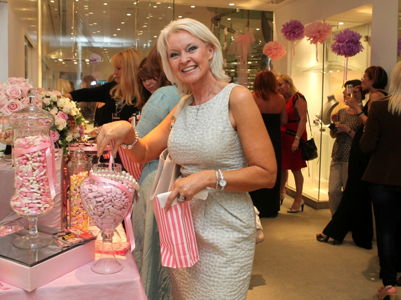 Candy Buffet for Boodles the Jewellers