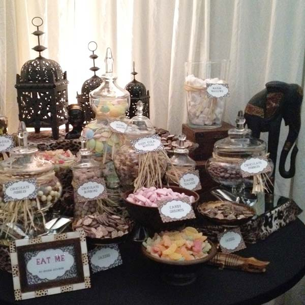 Candy Buffet African Themed Candy Buffets L Sweetie