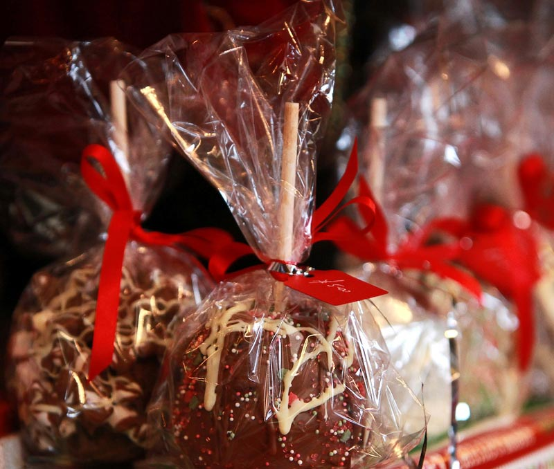 christmas candy apples - Christmas Candy Apples