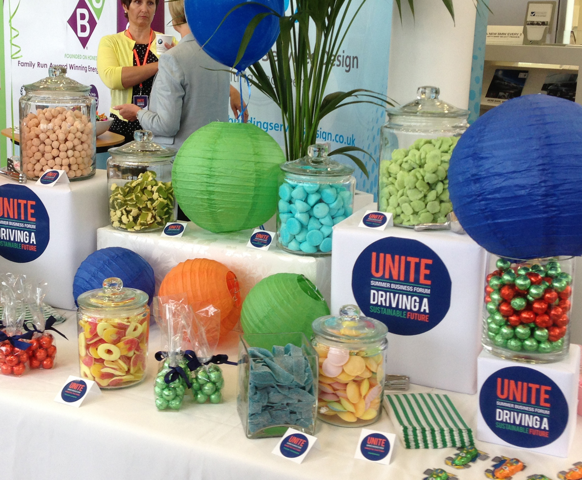 Unite Event at Elms BMW Candy Buffet