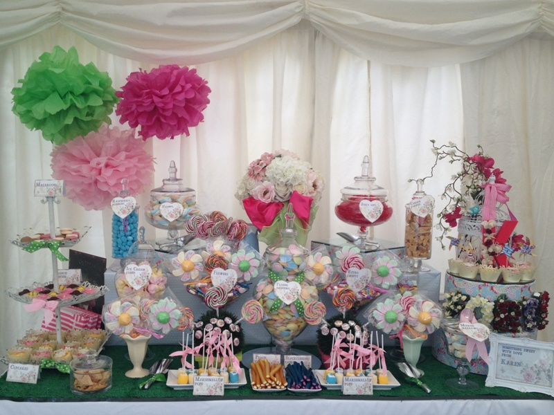 Candy Buffet Garden Party Candy Buffets L Sweetie Tables