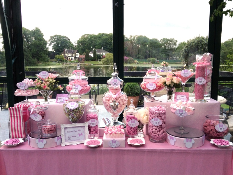 Candy buffet pink minnie mouse candy buffets l sweetie tables l candy buffet pink minnie mouse watchthetrailerfo
