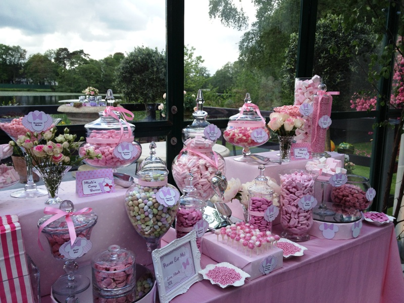 Candy Buffet Pink Minnie Mouse