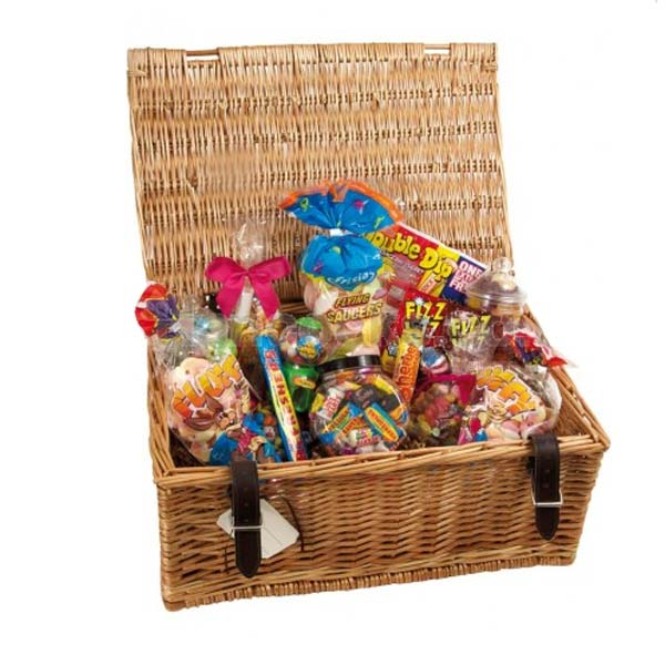 Huge hamper full of retro sweets