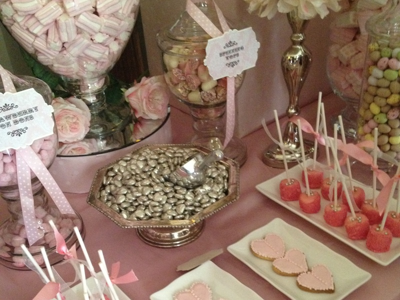 Swell Wedding Candy Buffet In Vintage Pink Candy Buffets L Download Free Architecture Designs Rallybritishbridgeorg