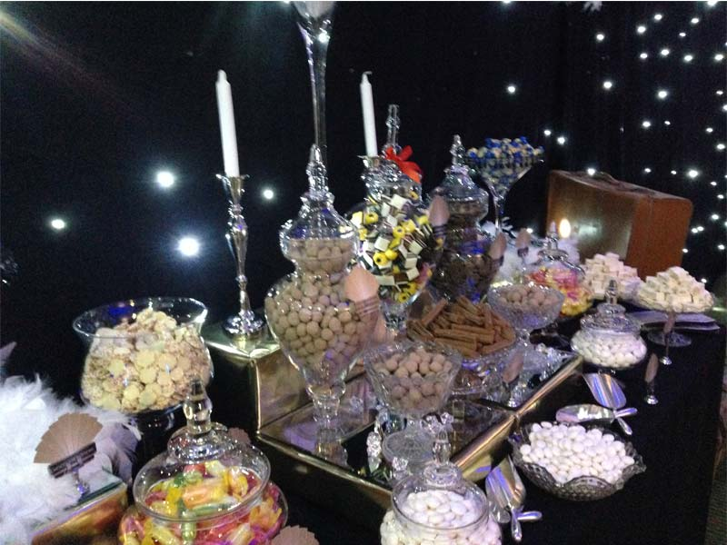 1920's  themed Candy Buffet