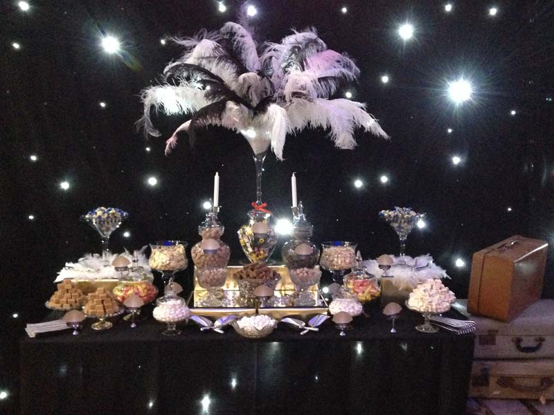 1920 S Themed Candy Buffet Candy Buffets L Sweetie