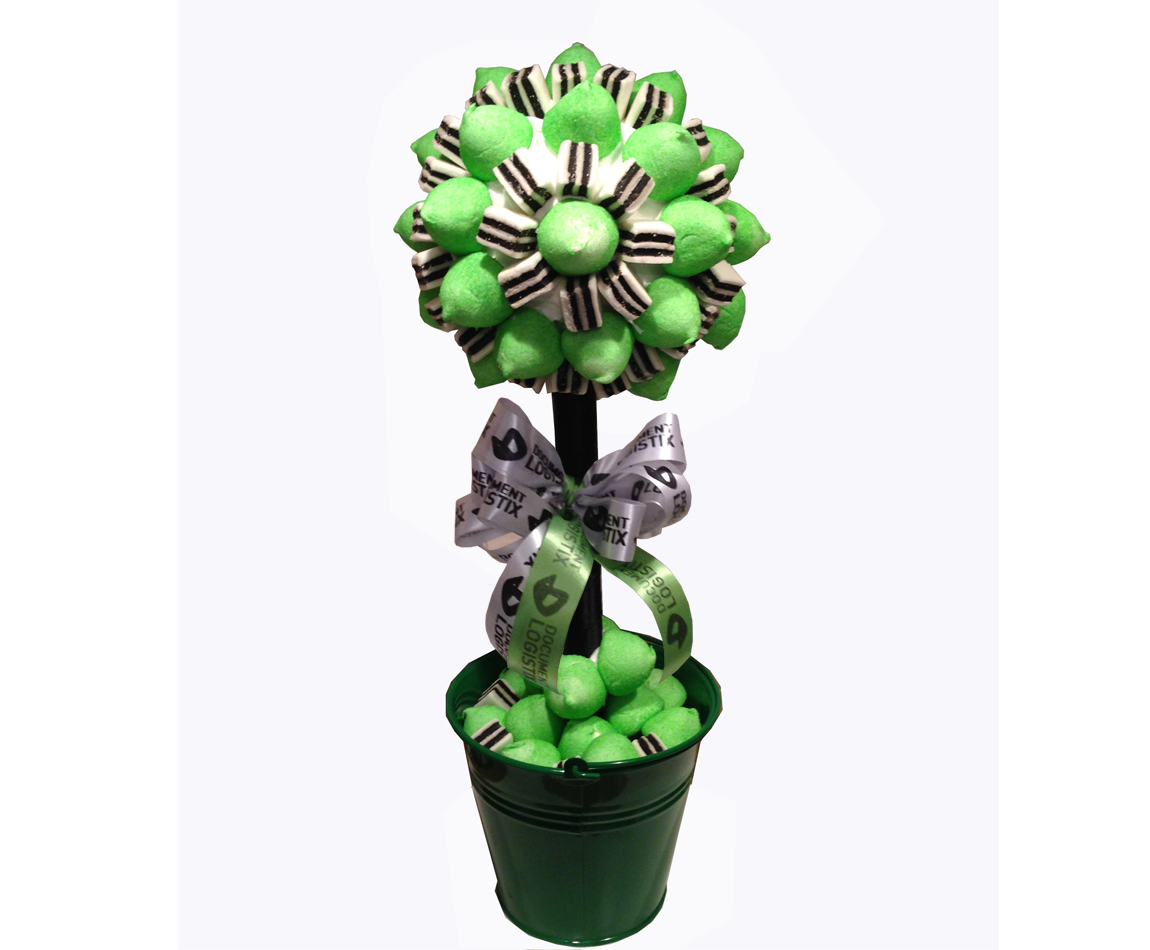Sweetie Tree in Green and Black