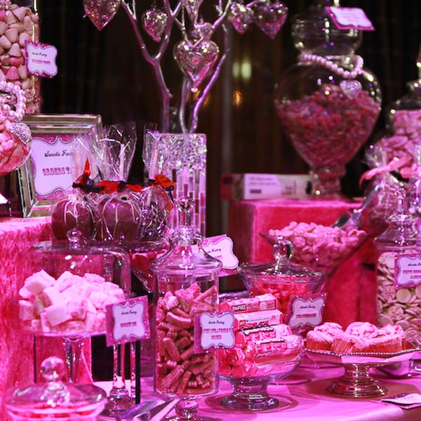 Candy Buffet Pink and Sparkly