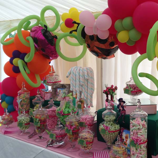 Tinkerbell Pink and Green Sweetie Table