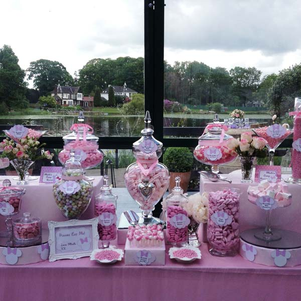 Dessert Table Pink Minnie Mouse