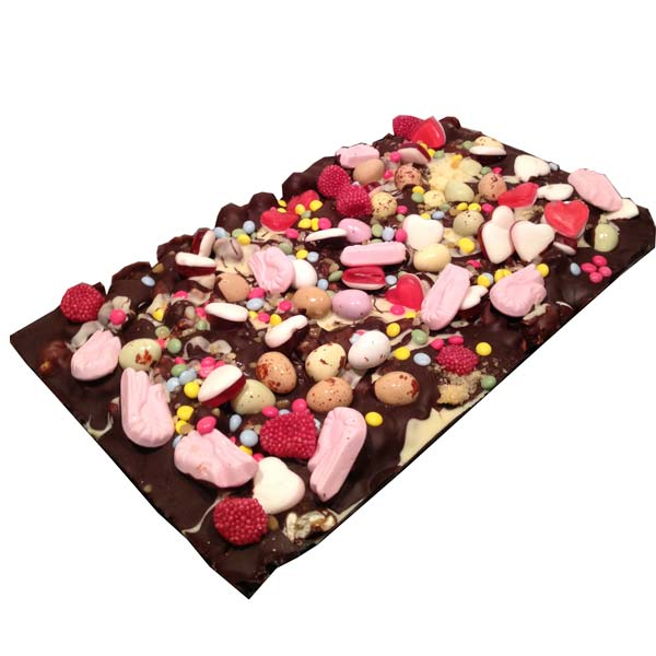 Chocolate Popcorn Slab