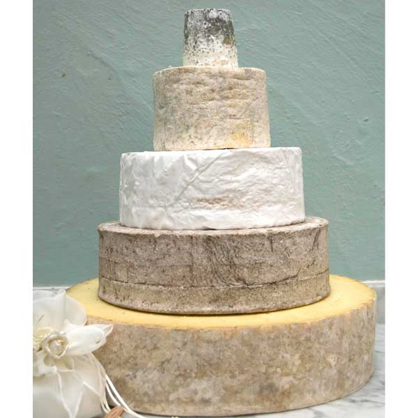 Cheese Wedding Cake Suffolk