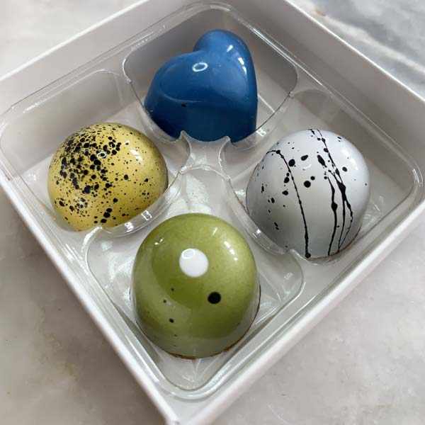 Artisan Chocolate Truffles Box of 4