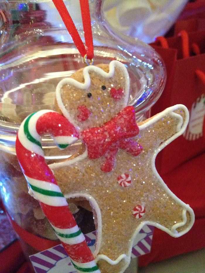 Christmas Gingerbread Man Biscuit