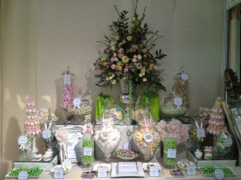 Wedding Candy Buffet In Green Candy Buffets L Sweetie